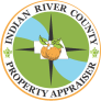 Indian River County Logo and Home button